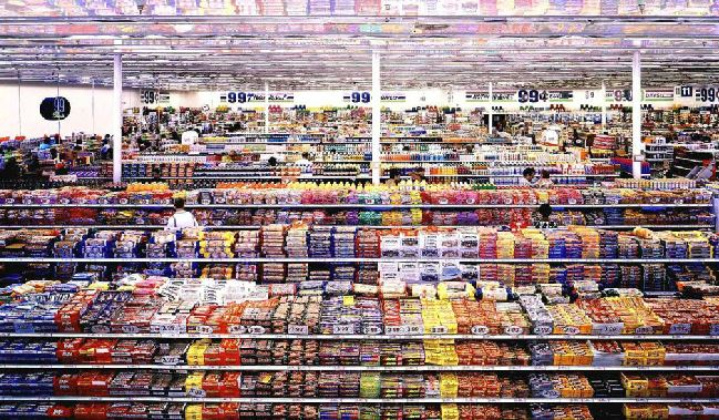 99 cents Andres Gursky