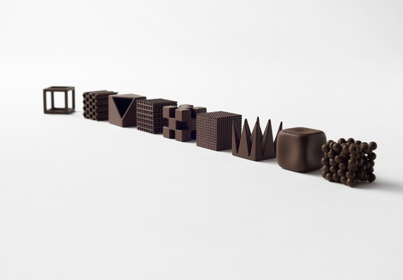 Nendo Chocolate Texture