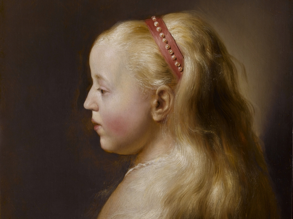 A young girl Jan Lievens