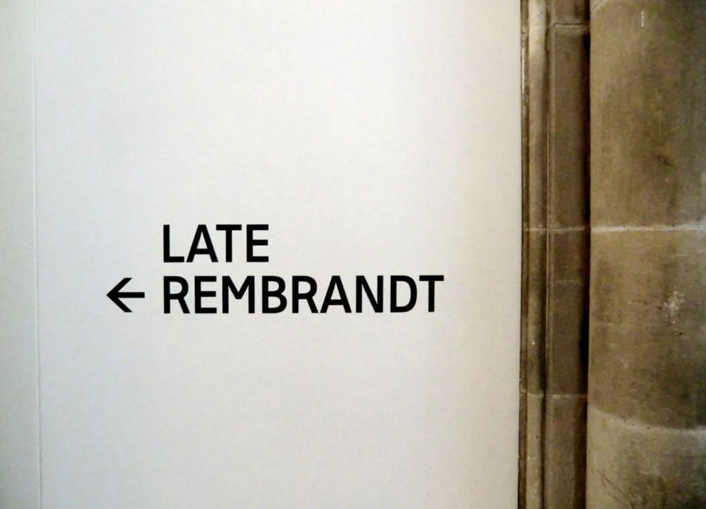 Late Rembrandt Rijksmuseum