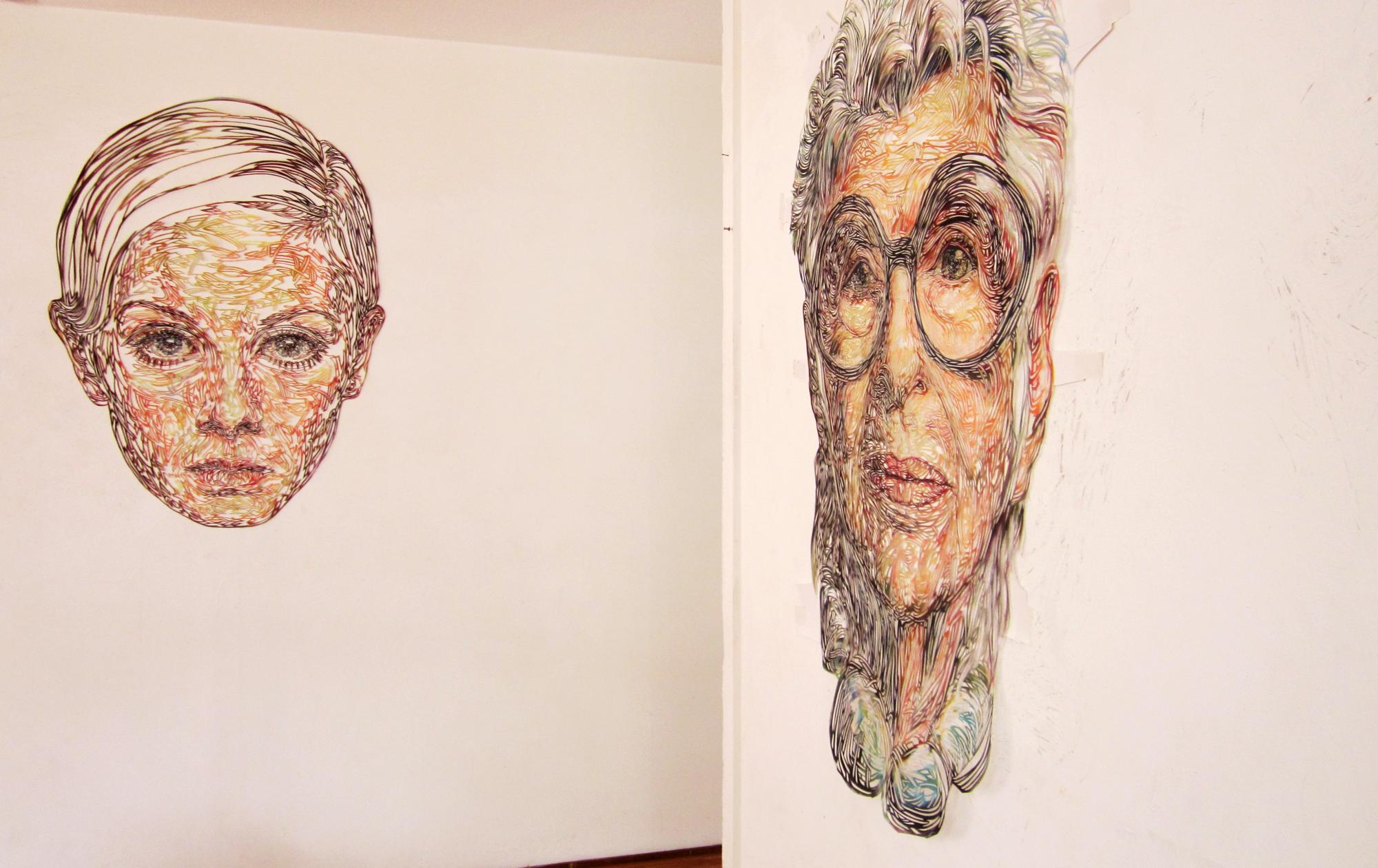 Kuin Heuff portraits