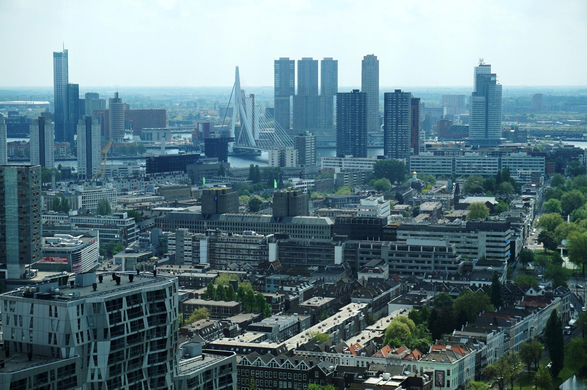 Visiting Rotterdam architecture