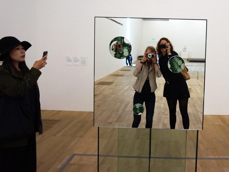 A new focus! Tate Modern Yayoi Kusama photos