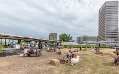 Luchtpark Hofbogen Rotterdam